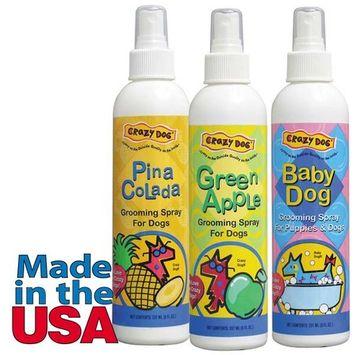 Cd Green Apple Grooming Spray 8oz