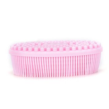 Soft Silicone Massage Brush, Baby Multi-Use Shower Bath Shampoo Scalp Massage Comb