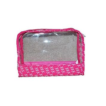 Bare Minerals XOX Jet Set Charms Clear Plastic Cosmetic Bag