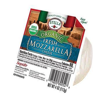 Stella Organic Fresh Mozzarella Ball, 4 Oz