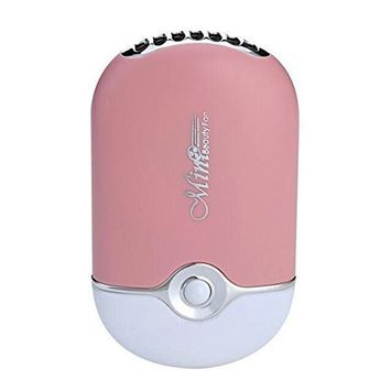 JUMP USB Mini Fan Air Conditioning Blower for Eyelash Extension (Blue/Purple)