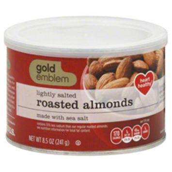 Gold Emblem Lightly Salted Roasted Almonds with Sea Salt