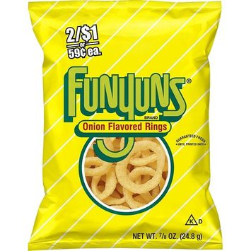 Funyuns Onion Flavored Rings (0.875 oz. ea., 24 ct.) - (Original from manufacturer - Bulk Discount available)