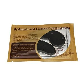 Start 24k Gold Eye Collagen Eye Zone Pad Patches Crystal Gel Mask Wrinkle Anti Aging Skin Care -BK