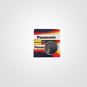 Panasonic BATTERIES CR3032 LITHIUM BATTERY, 3V, COIN CELL (1 piece)
