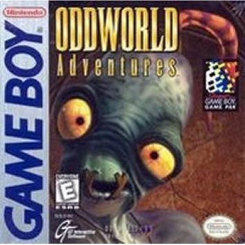 Game Boy Oddworld Adventure GB