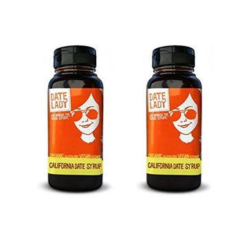 California Organic Date Syrup (12 oz plastic, 2 bottles)