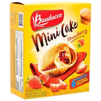 379933 Bauducco Strawberry Mini Cake 6Pk (12-Pack) Cheap Wholesale Discount Bulk Accessories.