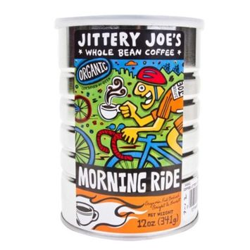 Jittery JOES Morning Ride Full City Roast 12oz Ground Coffee
