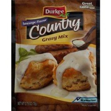 Durkee Sausage Flavor Country Gravy, 2.75oz (6 Pack)