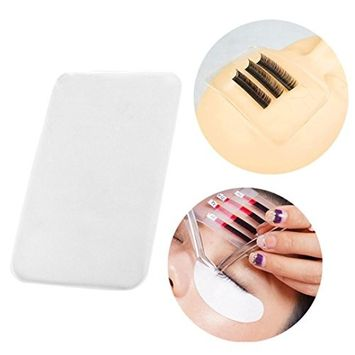 Hunputa Silicone Lash Pad Eyelash Extension Bulk Loose Lash Holder