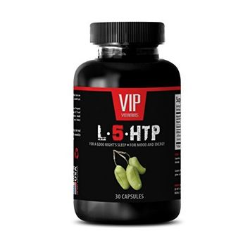 5 htp for weight loss - L-5-HTP for a good night's sleep, for mood and energy - 5 htp weight loss - 1 Bottle 30 Capsules