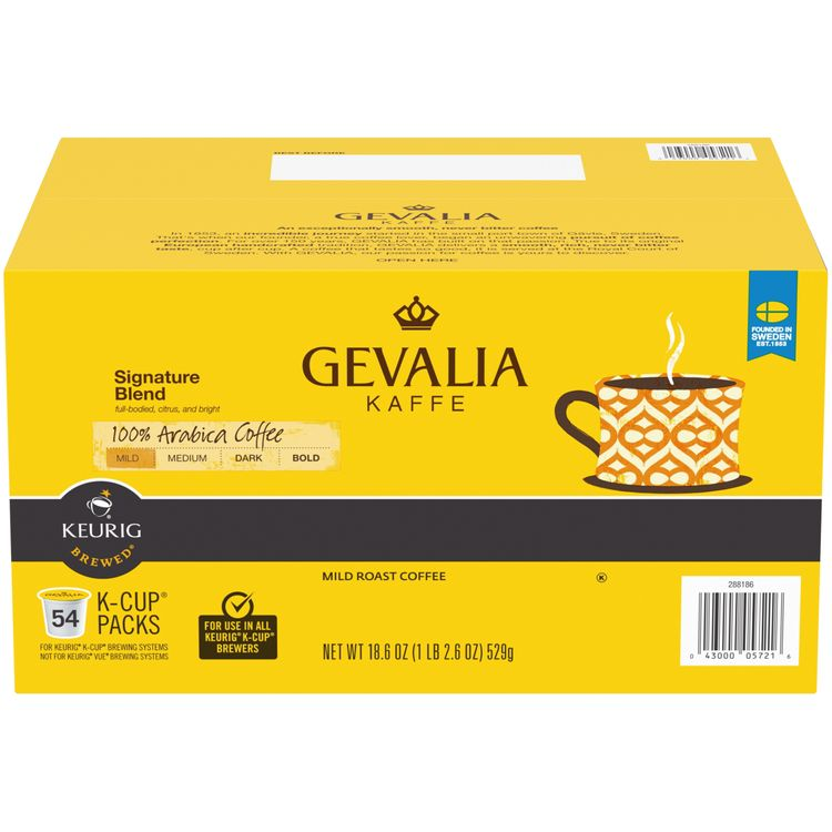 Gevalia Signature Blend Coffee K-Cup Pods