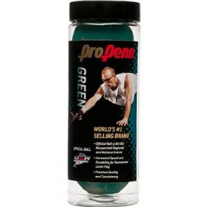 Pro Penn Green 24 Cans: Penn Racquetball Balls