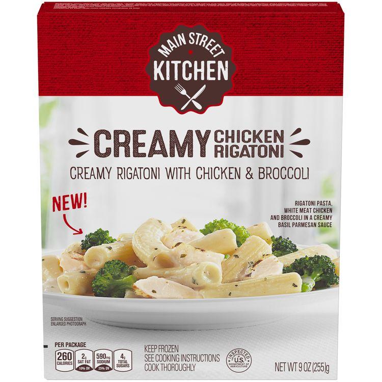 Main Street Kitchen Chicken & Creamy Rigatoni