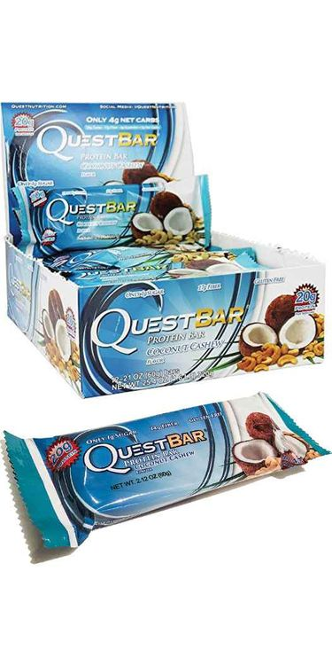 Botanic Choice Quest Nutrition    Quest Protein Bars - Coconut Cashew