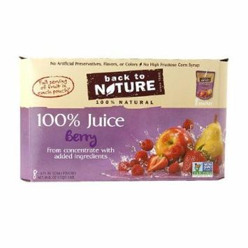 Back to Nature Berry Juice 48 oz pack of 2