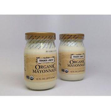 Trader Joe's Organic Mayonnaise (Pack of 2) 16-oz Jars