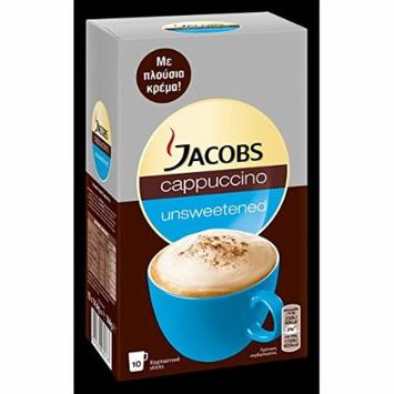Jacobs Cappuccino Unsweetened 10 Sachets
