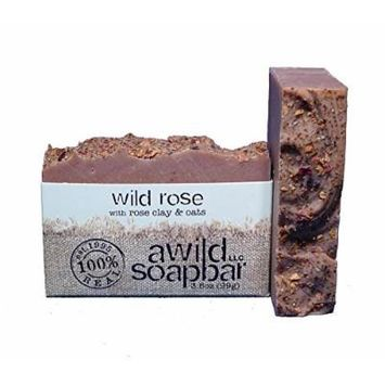 A Wild Soap Bar Wild Rose Natural Soap