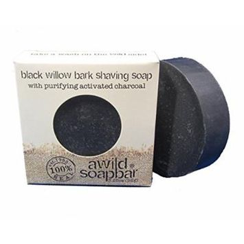 A Wild Soap Bar Black Willow Bark Shaving Soap