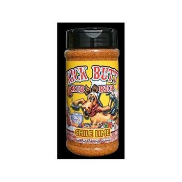 Kick Butt Chili Lime Rib Rub - Hot, tangy, and awesome on the grill. Use on ribs, chicken, fish or pork!