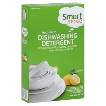 Smart Sense Dishwashing Detergent, Automatic, Lemon, 75 oz (4.68 lb) 2.12 kg - KMART CORPORATION