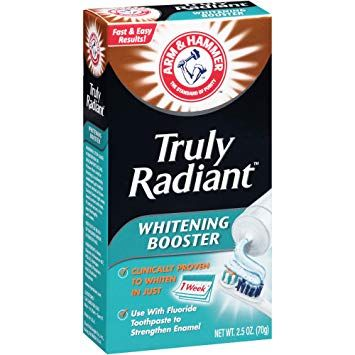 Arm & Hammer Truly Radiant Whitening Booster Toothpaste