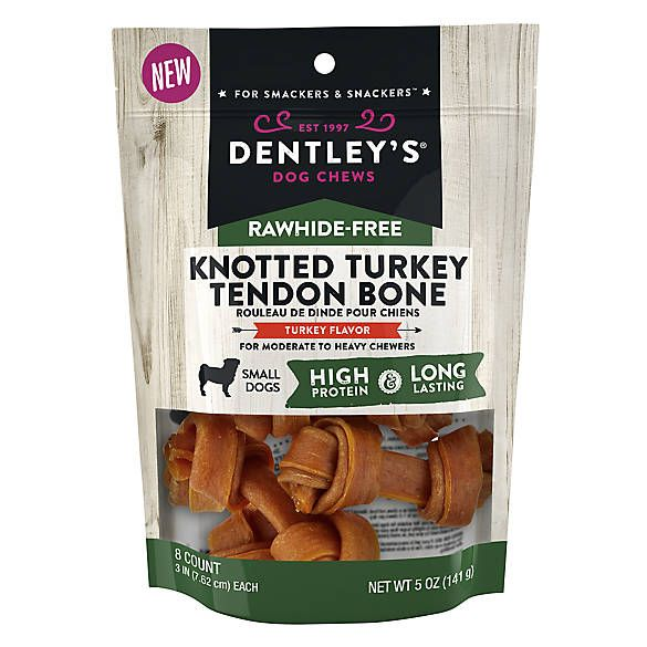Dentley's® Rawhide-Free Small Knotted Bones Treats