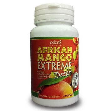 Eden's Finest African Mango Extreme Detox - Complete Colon Cleansing and Detoxifying Formula