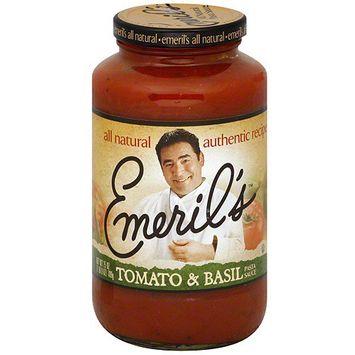 Emeril's Tomato & Basil Pasta Sauce, 25 oz (Pack of 6)