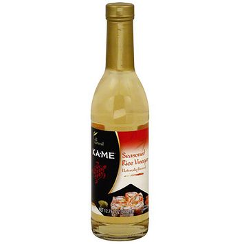 Kame Ka-Me Seasoned Rice Vinegar, 12.7 oz (Pack of 6)