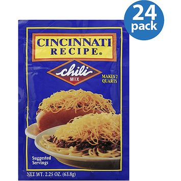 Cincinnati Recipe Chili Mix, 2.25 oz (Pack of 24)