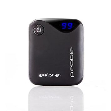 Veho PEBBLE Explorer Portable Charger (8400mAh, Black)