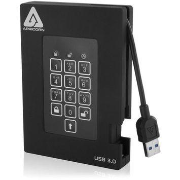 IGRMRW2996 - Apricorn Aegis Padlock A25-3PL256-1000F 1TB External Hard Drive