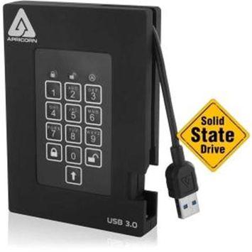 Apricorn Aegis Padlock A25-3PL256-S128F 128GB External Solid State Drive