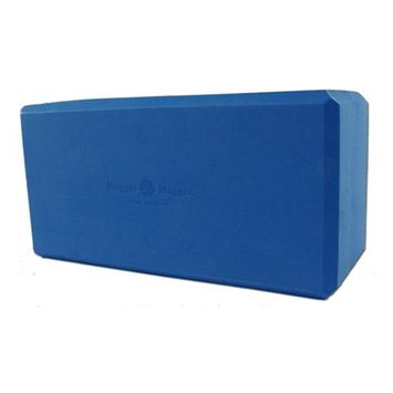 Hugger Mugger Big Blue Foam Yoga Block