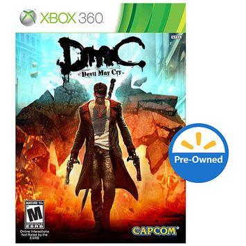 Capcom Usa DMC: Devil May Cry PER-OWNED (Xbox 360)