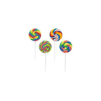 Fun Express BB003590 Swirl Lollipop - 12-Pack