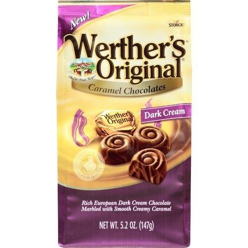 Werther's Original Caramel Chocolate Dark Cream