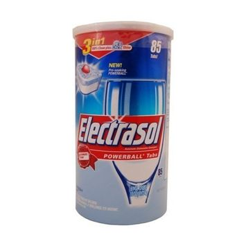 Electrasol Dishwasher Detergent with Powerball Tabs 90 Tabs