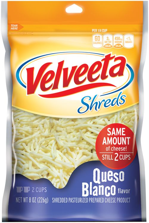 Velveeta Queso Blanco Flavor Shreds