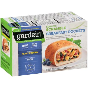 Gardein™ Eggless Scramble Breakfast Pockets