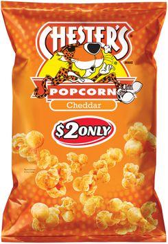 chester's® cheddar popcorn $2 prepriced