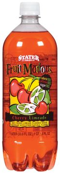 Stater Bros. Fruit Motions Cherry Limeade Water Beverage 1 L Plastic Bottle