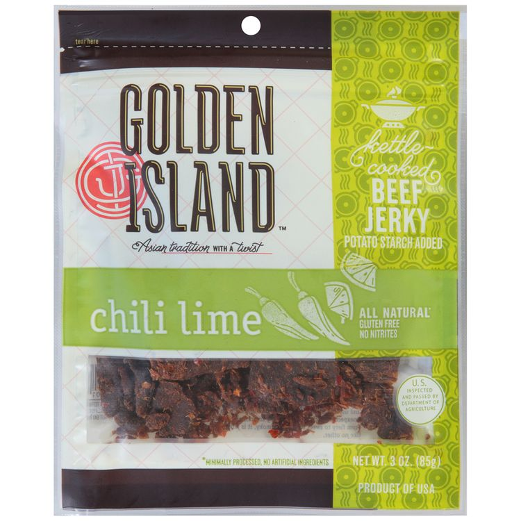 golden island™ chili lime beef jerky