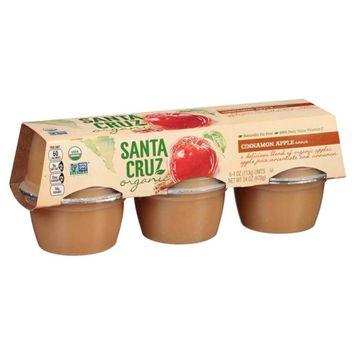 Smucker's Santa Cruz Organic Cinnamon Apple Sauce 4 oz