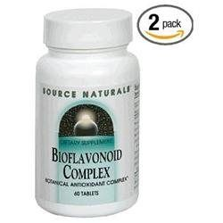 Source Naturals Bioflavonoid Complex - 60 Tablets - Cardiovascular Support Herbs