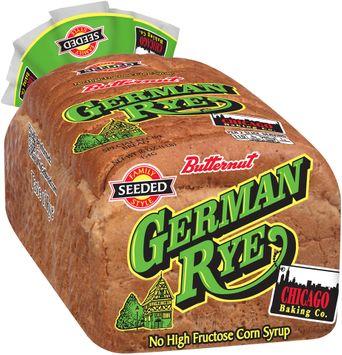 butternut® german rye special recipe bread