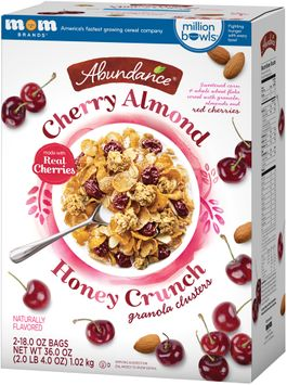 Abundance® Cherry Almond Honey Crunch Granola Clusters s